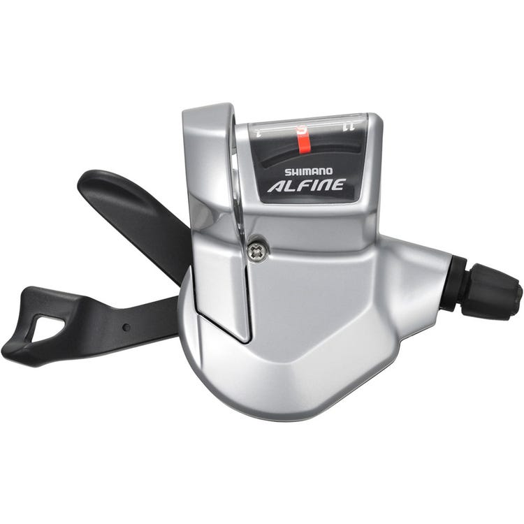 Shimano Alfine SL-S700 Alfine 11-speed Rapidfire lever - right hand - silver