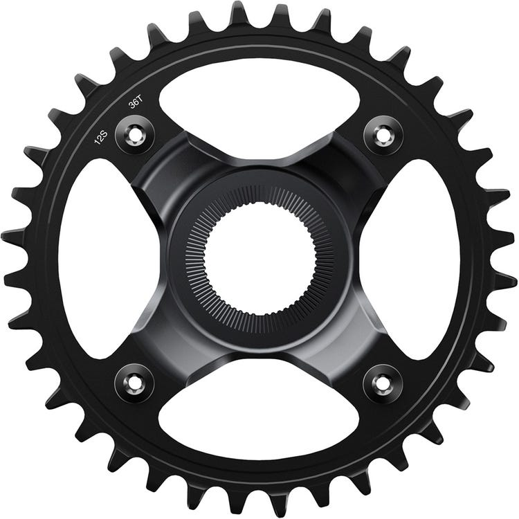 Shimano STEPS SM-CRE80 STEPS chainring, 12-speed, for 56.5 mm chainline (Superboost)