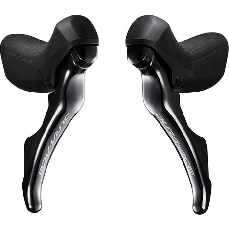 ST-R9100 Dura-Ace double mechanical 11-speed STI levers, pair