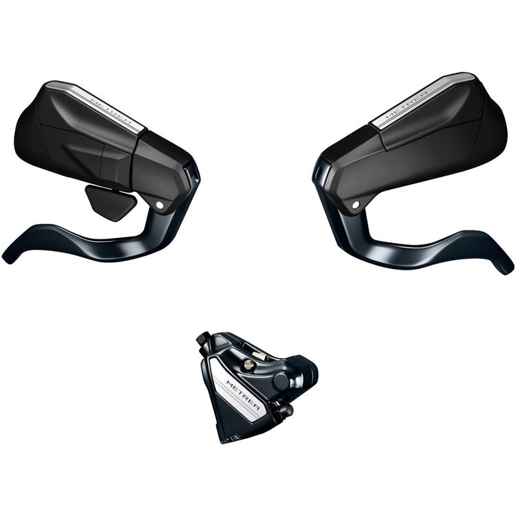 Shimano Metrea ST-U5060-R/BL-U5010-L Metrea bled disc brake, mechanical STI fully bled set