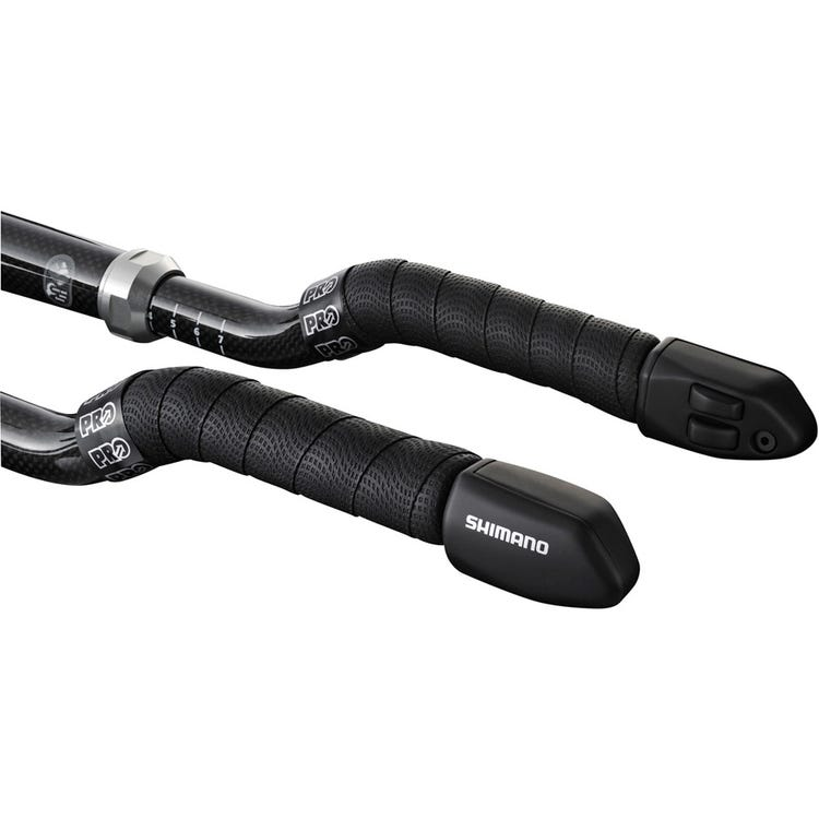 Shimano Non-Series Di2 SW-R671 Di2 Shift switches for TT / Tri bars, 2 button design, E-tube, pair