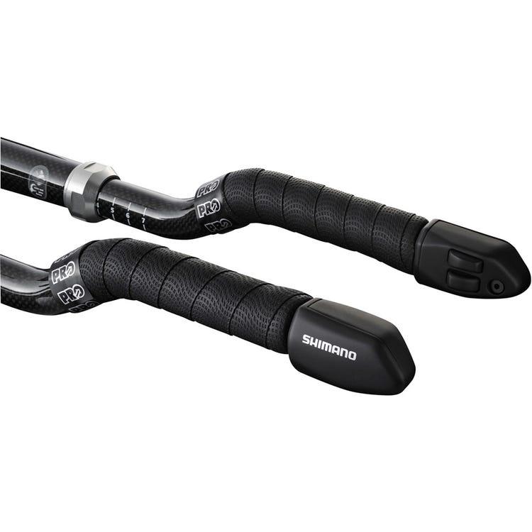 Shimano Non-Series Di2 SW-R671 Di2 Shift switches for TT / Tri bars, 2 button design, E-tube, pair