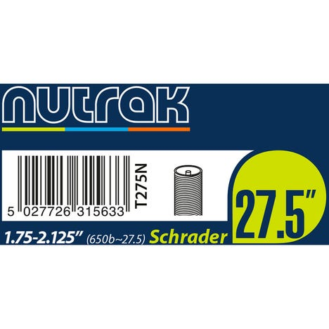 Nutrak Inner Tube 27.5 inch (650B) Schrader or Presta