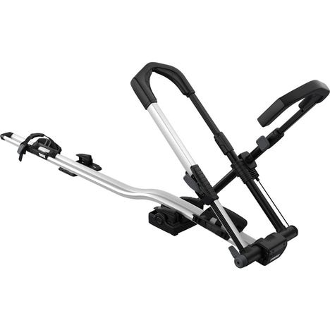 Thule 599 UpRide locking upright cycle carrier alu