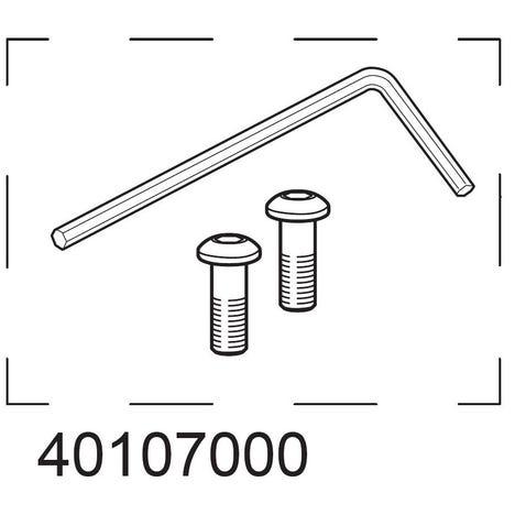 Handlebar hardware kit