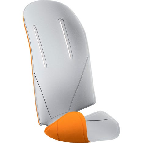 RideAlong reversible seat pad light grey / orange