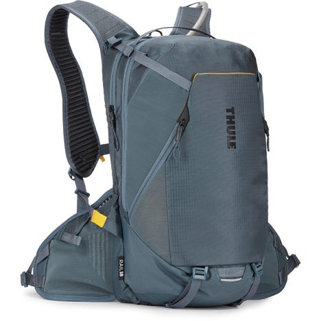 Rail Pro E-MTB hydration backpack 18 litre cargo, 2.5 litre fluid - slate