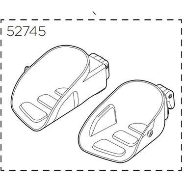 Yepp Maxi Footrests, left & right