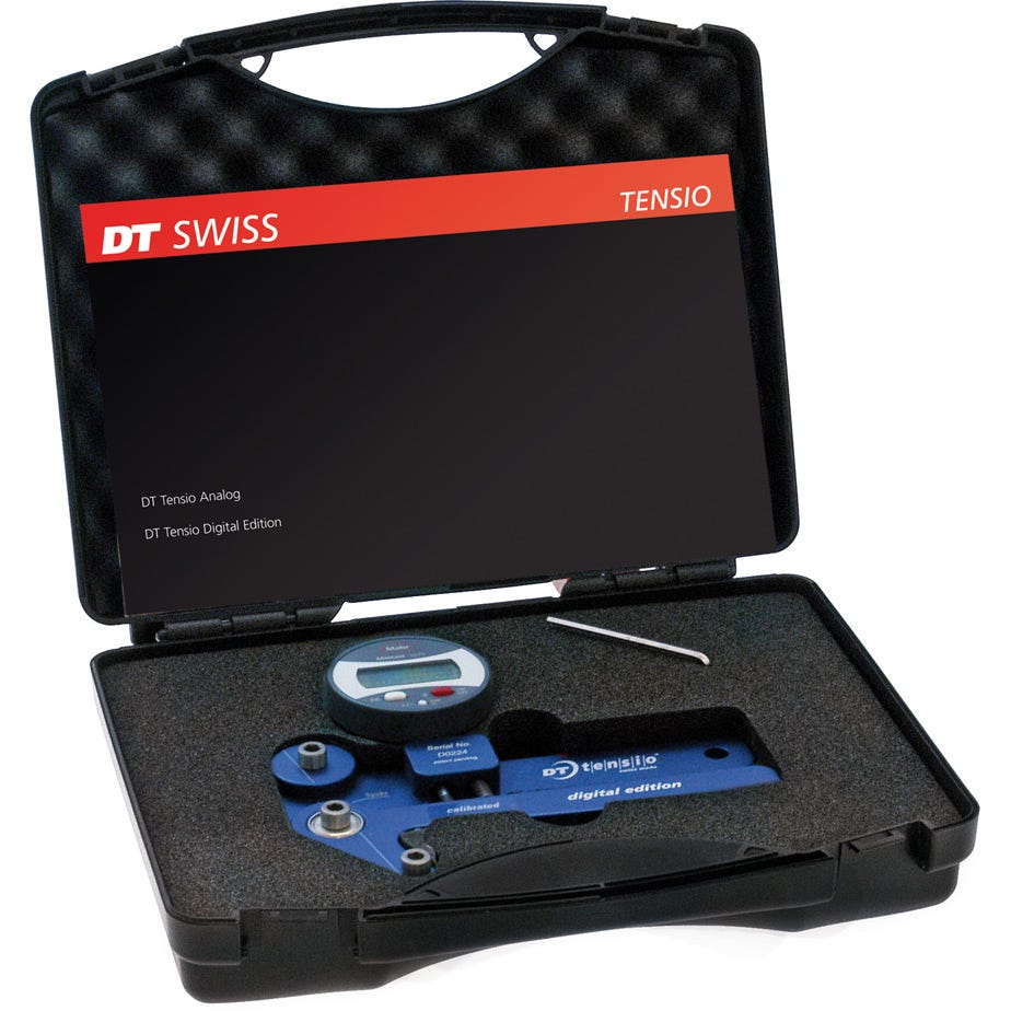 DT Swiss Proline digital tensiometer blue