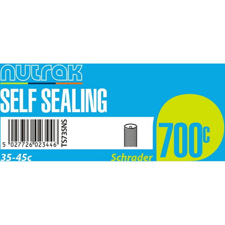 Nutrak Inner Tube Self-sealing Presta or Schrader