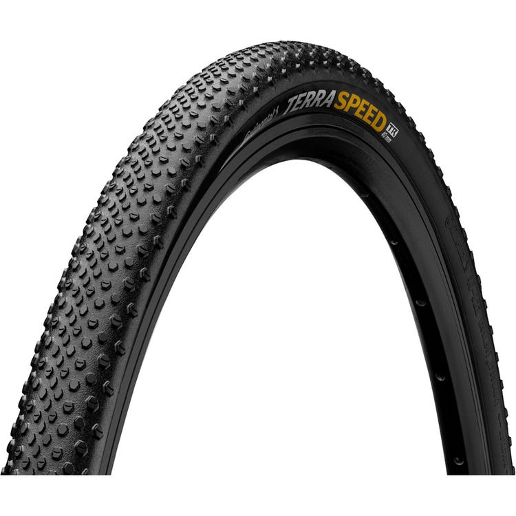 "Continental Terra Speed 27.5 x 1.5"" Cream wall folding tyre"