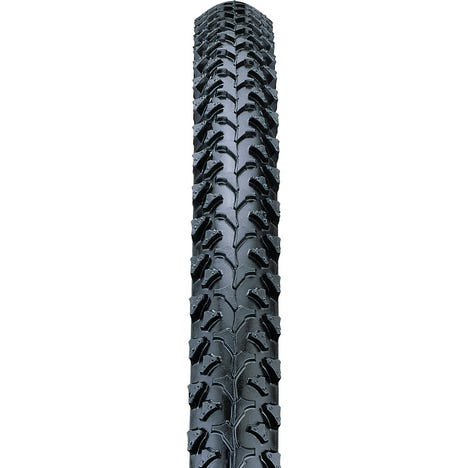 26 x 1.95 inch MTB raised centre tread knobbly tyre