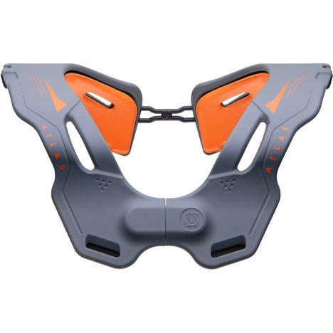 Vision Collar Grey/Orange S/M