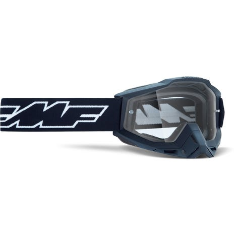 POWERBOMB Goggle Rocket Black Clear Lens