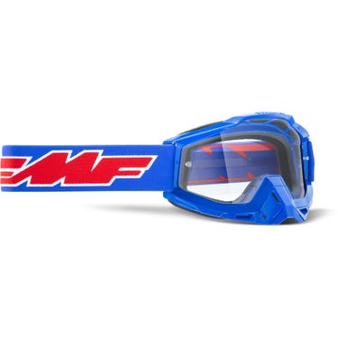 POWERBOMB Goggle Rocket Blue Clear Lens