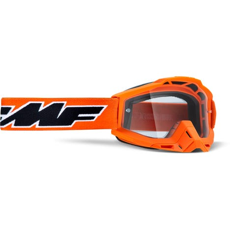POWERBOMB Goggle Rocket Orange Clear Lens