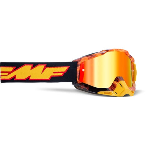 POWERBOMB Goggle Spark Mirror Red Lens