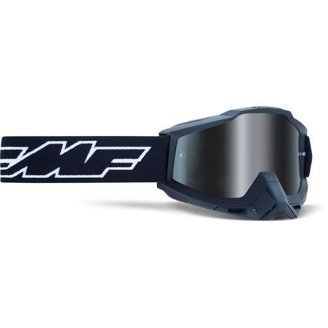 POWERBOMB Goggle Rocket Black Mirror Silver Lens