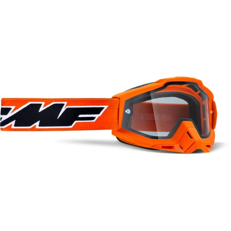 POWERBOMB Enduro Goggle Rocket Orange Clear Lens