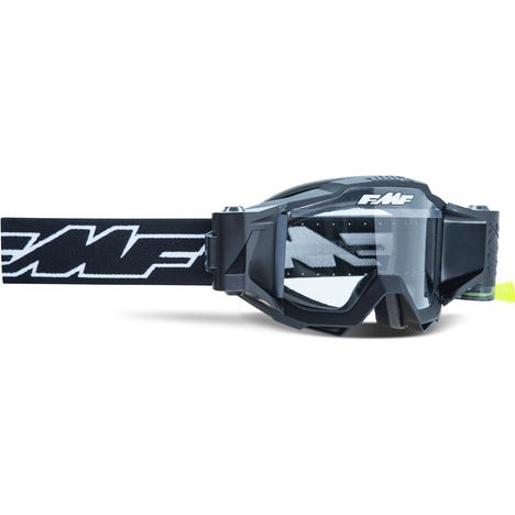 POWERBOMB YOUTH Film System Goggle Rocket Black Clear Lens