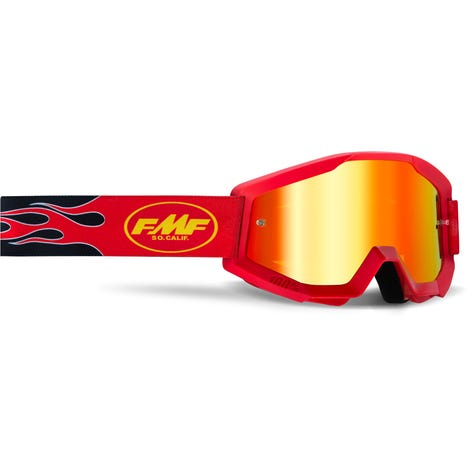 POWERCORE Goggle Flame Red Mirror Red Lens