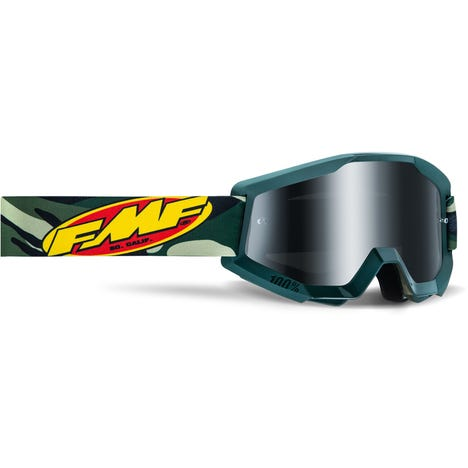 POWERCORE Goggle Assault Camo Mirror Silver Lens