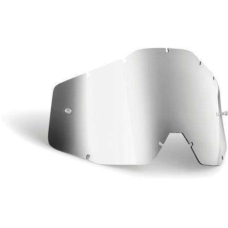 POWERBOMB/POWERCORE Replacement Lens Anti-Fog Silver Mirror