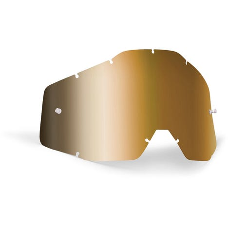 POWERBOMB/POWERCORE Replacement Lens Anti-Fog True Gold Mirror