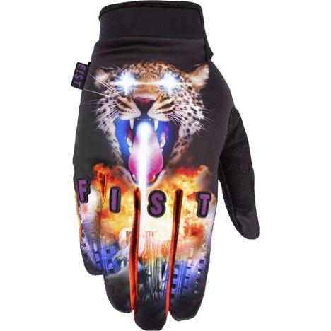Lazer Leopard Glove