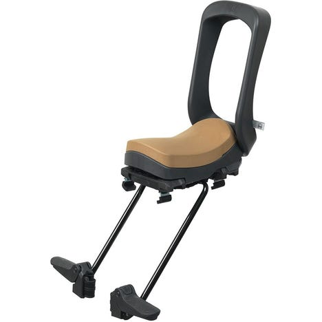 Junior Seat with Rack Mount - Bincho Black / Kurumi Brown