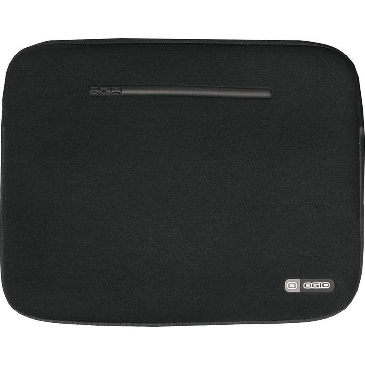 OGIO Neoprene Laptop Sleeve, 17inch, Black/Silver