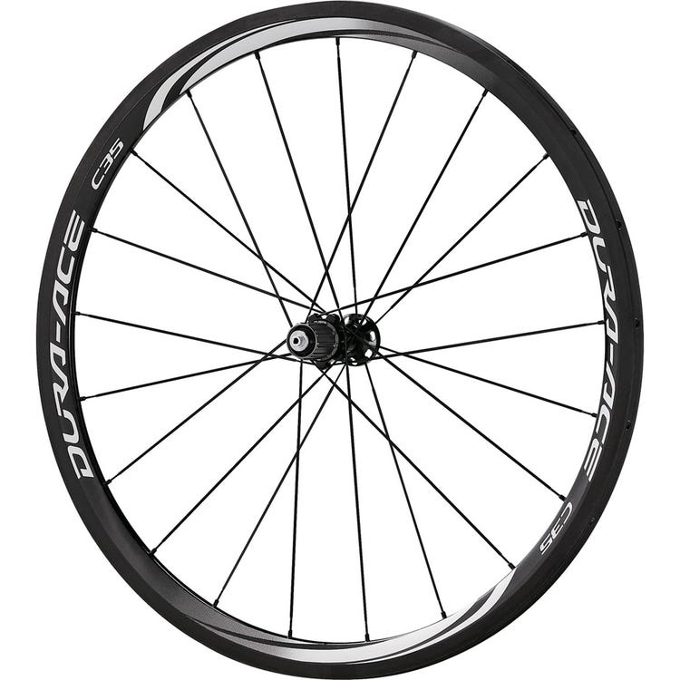 Shimano Dura-Ace WH-9000-C35-TU Dura-Ace wheel, carbon tubular 35 mm, 11-speed, rear