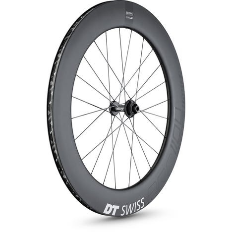 ARC 1100 DICUT disc brake wheel, carbon clincher 80 x 17 mm rim, front