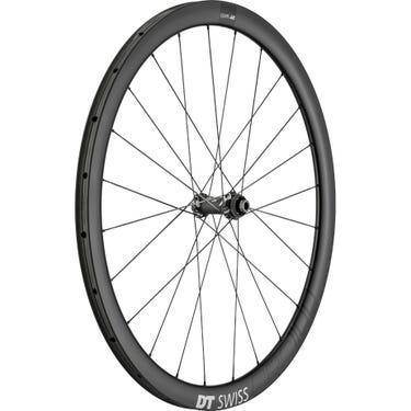 CRC 1100 SPLINE disc brake wheel, carbon tubular 38 x 26 mm, front