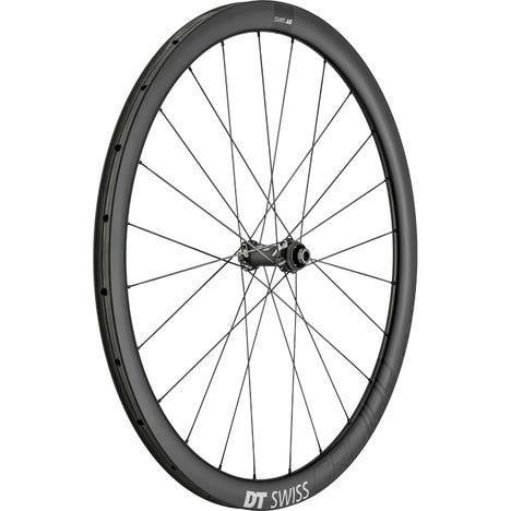 CRC 1100 SPLINE disc brake wheel, carbon tubular 38 x 26 mm, front