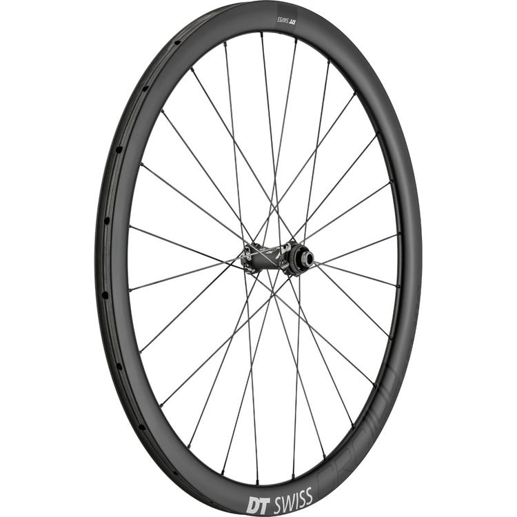 DT Swiss CRC 1100 SPLINE disc brake wheel, carbon tubular 38 x 26 mm, front