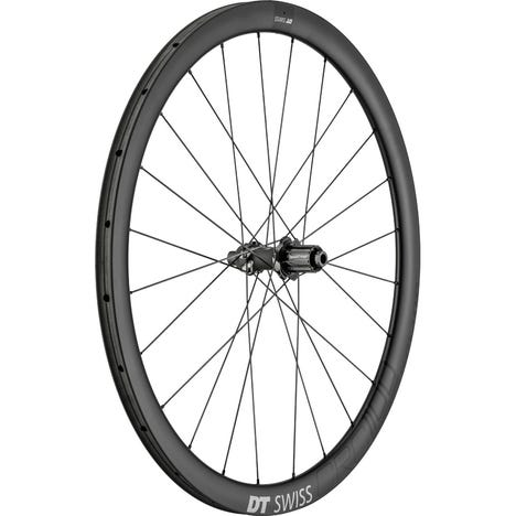 CRC 1100 SPLINE disc brake wheel, carbon tubular 38 x 26 mm, rear