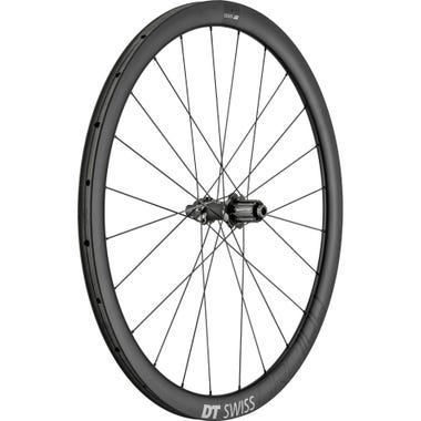 DT Swiss CRC 1100 SPLINE disc brake wheel, carbon tubular 38 x 26 mm, rear
