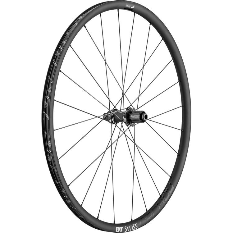 DT Swiss CRC 1400 SPLINE disc brake wheel, carbon clincher 24 x 22 mm, rear