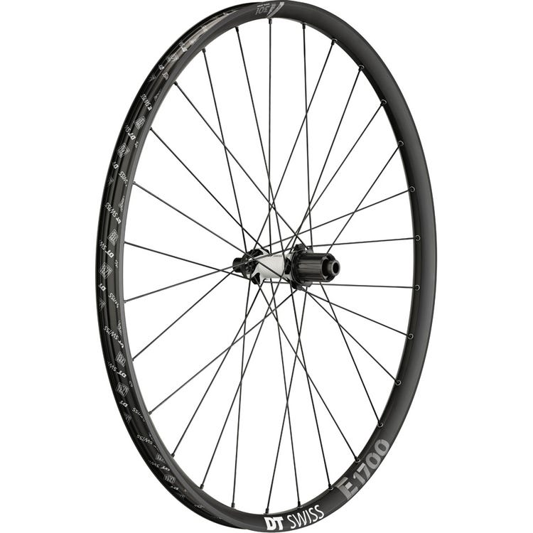 DT Swiss E 1700 wheel, 30 mm rim, 12 x 148 mm BOOST axle , 29 inch rear MICRO SPLINE