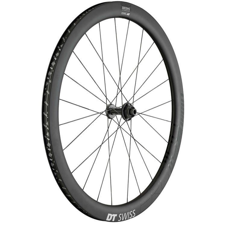 DT Swiss ERC 1100 DICUT disc brake wheel, carbon clincher 47 x 19 mm, front