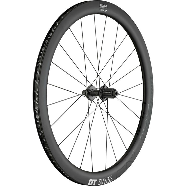 DT Swiss ERC 1100 DICUT disc brake wheel, carbon clincher 47 x 19 mm, rear