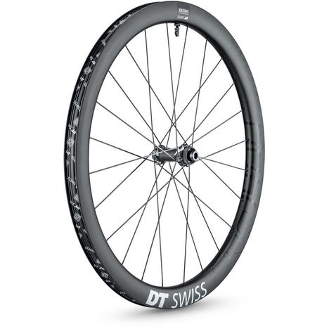 DT Swiss GRC 1400 SPLINE disc brake wheel, carbon clincher 42 x 24 mm, 700c front