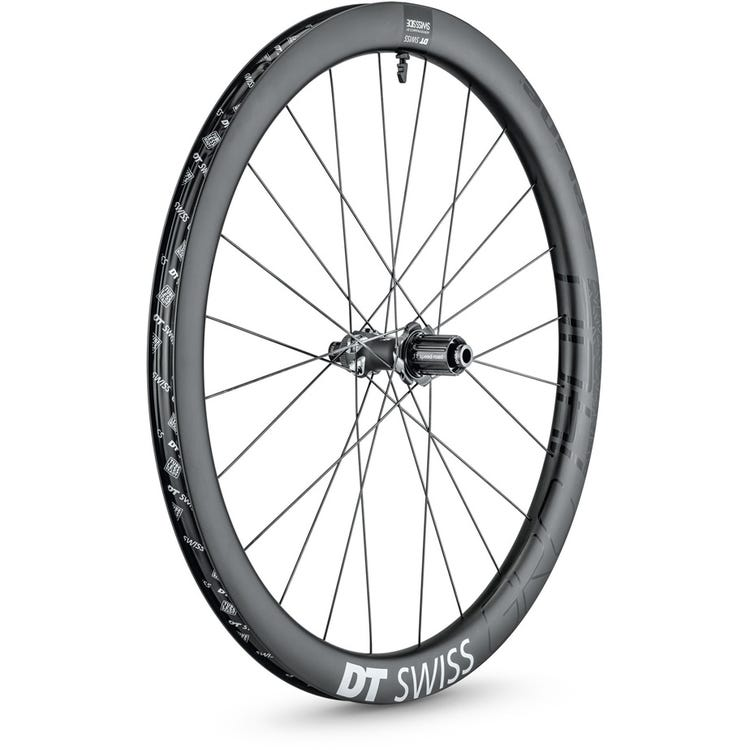 DT Swiss GRC 1400 SPLINE disc brake wheel, carbon clincher 42 x 24 mm, 700c rear