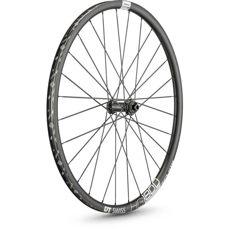 DT Swiss HG 1800 HYBRID disc brake wheel, 25 x 24 mm rim, 110 x 12 mm axle, 700c front