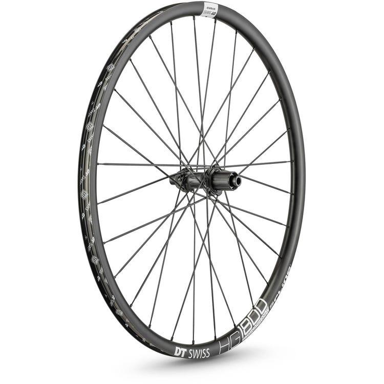DT Swiss HG 1800 HYBRID disc brake wheel, 25 x 24 mm rim, 148 x 12 mm axle, 700c rear
