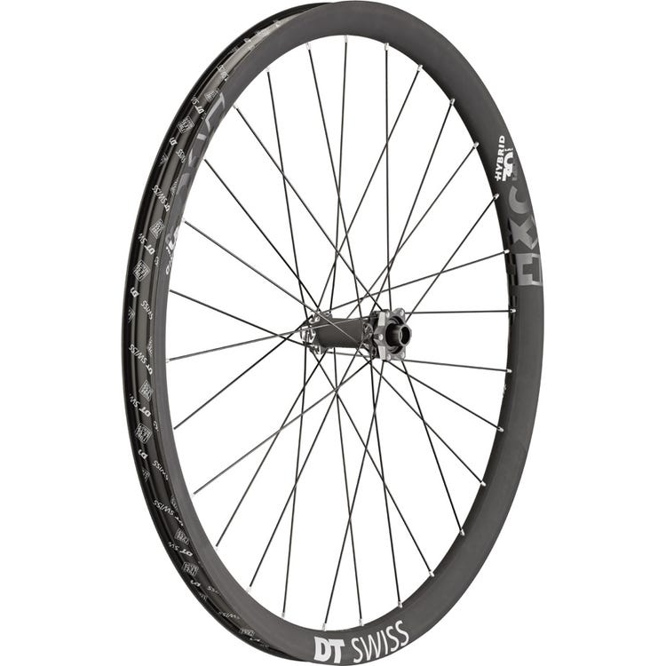 DT Swiss HXC 1200 Hybrid wheel, 30 mm Carbon rim, 15 x 110 mm BOOST axle, 29 inch front
