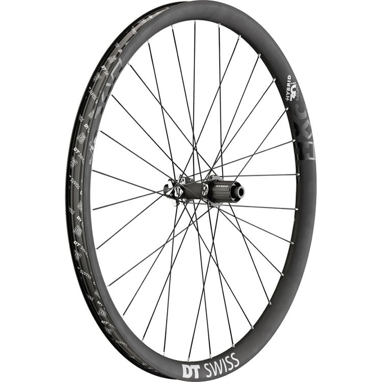 DT Swiss HXC 1200 Hybrid wheel, 30 mm Carbon rim, 12 x 148 mm BOOST axle, 29 inch rear