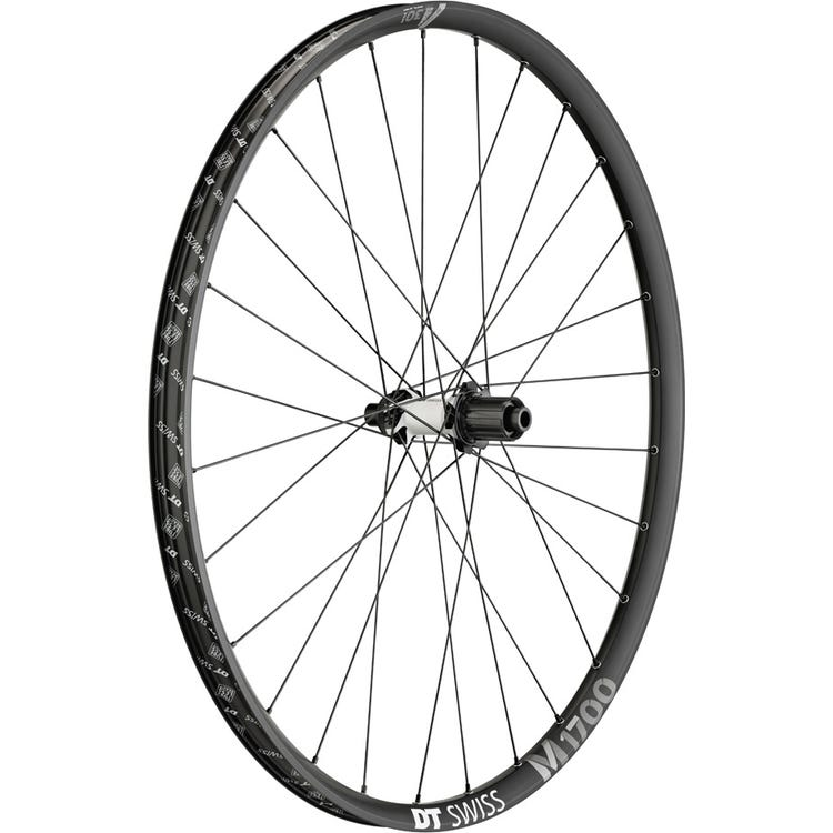 DT Swiss M 1700 wheel, 30 mm rim, 12 x 148 mm BOOST axle , 29 inch rear MICRO SPLINE