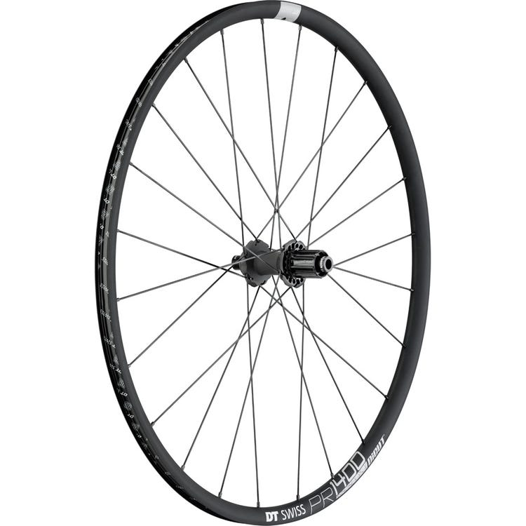 DT Swiss PR 1400 DICUT disc brake wheel, clincher 21 x 18 mm, rear